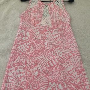 Pink and White Lily Pulitzer Dress